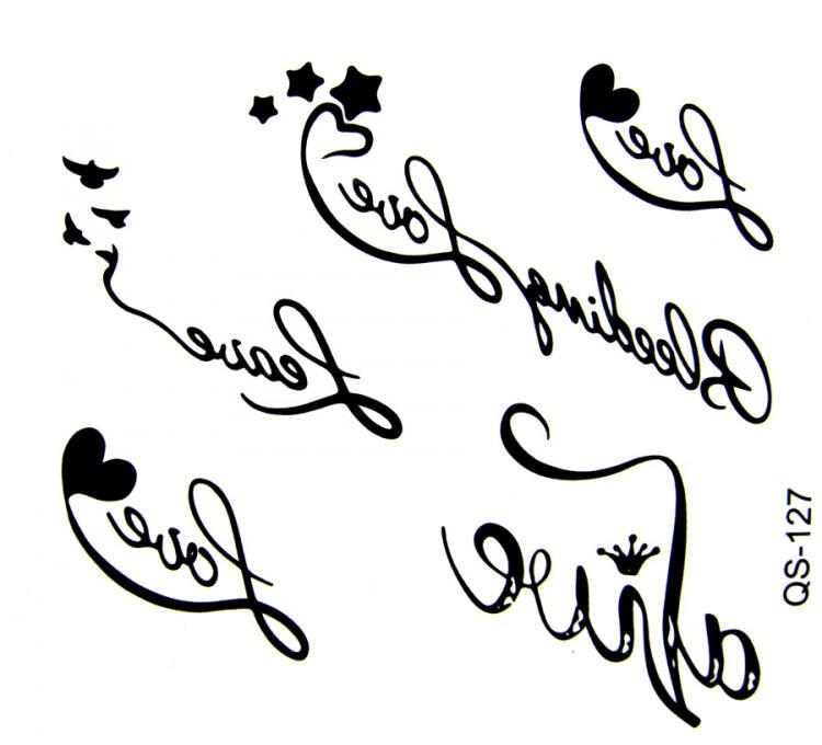 Тату картинки эскизы надписи с переводом, открытка