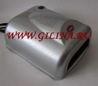 УФ-лампа 36 watt Gel Curing Silver с феном