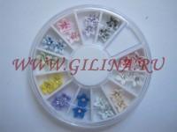 Цветы для дизайна ногтей AZ-05