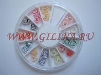 Цветы для дизайна ногтей AZ-04