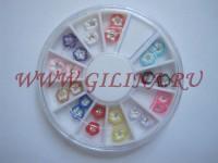 Цветы для дизайна ногтей AZ-08