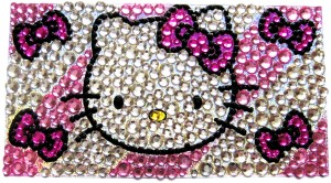 Наклейка на телефон Hello Kitty 625