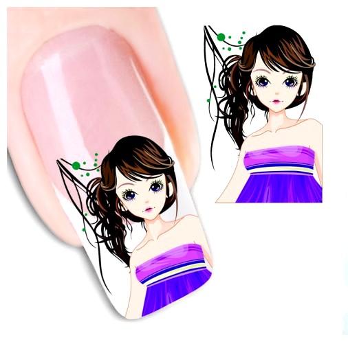 Ткань для дизайна ногтей
